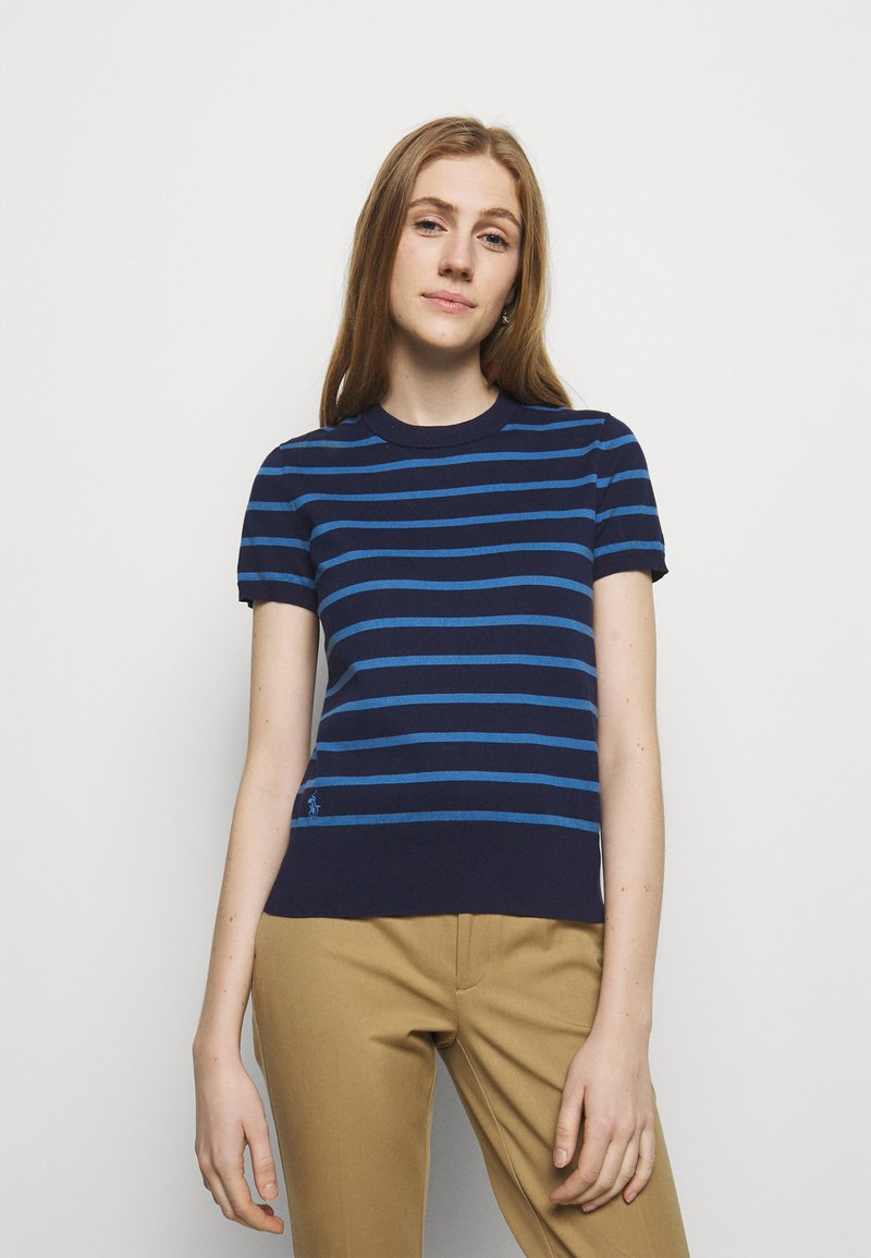 Polo Ralph Lauren - PIMA STRETCH - Print T-shirt - blue/multi