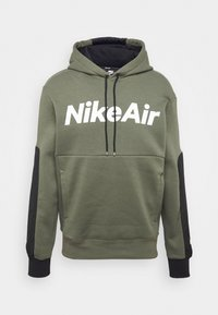 Nike Sportswear - AIR HOODIE - Mikina s kapucí - twilight marsh/black/white - 4
