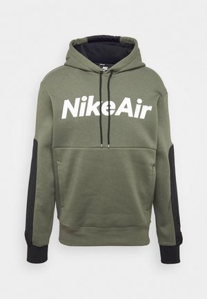 AIR HOODIE - Jersey con capucha - twilight marsh/black/white