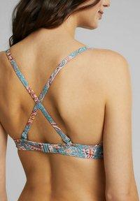 Esprit - Bikini top - teal green - 7