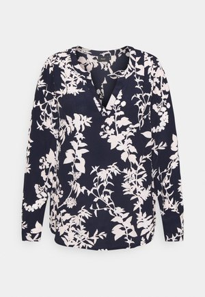 MJAVA BLOUSE - Long sleeved top - night sky
