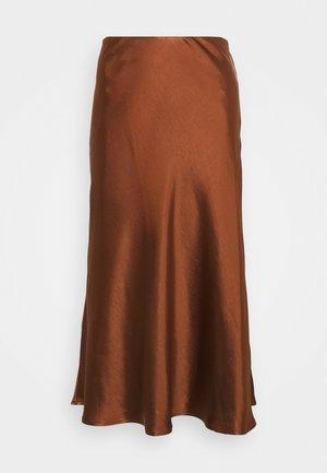 YASPHAMELLA - A-line skirt - mocha bisque