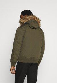 Schott - POWELL - Winter jacket - kaki - 2