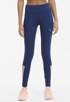 RUN FAVORITE RISE FULL - Leggings - elektro blue