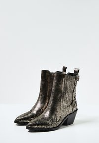 Pepe Jeans - WESTERN W PALM GLAM - Cowboy/biker ankle boot - chrom - 2