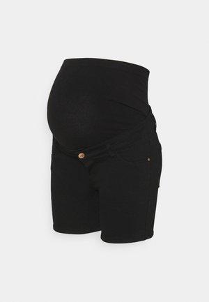 PCMDELLA  - Denim shorts - black denim