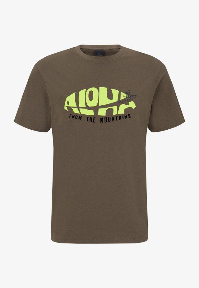 VITO - T-shirt imprimé - oliv-grün