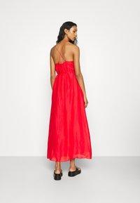 Banana Republic - STRAPPY SHIRRED - Maxi dress - strawberry delight - 2
