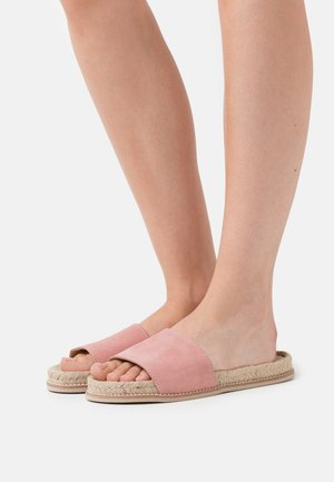 Slippers - mauve