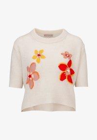 Rosa & Me - FLORA - Print T-shirt - star white - 4