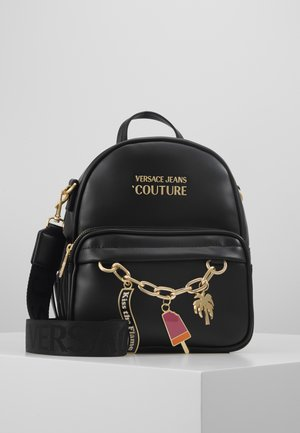 MINI BACKPACK W/CHARMS - Rucksack - nero