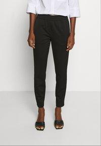 Marc O'Polo PURE - Trousers - pure black - 0