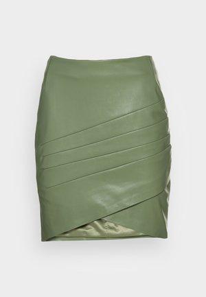 ROSALBA  - Mini skirt - baja palm