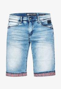 Rusty Neal - DUNSTER - Denim shorts - blau - 1
