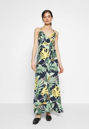 LADIES DRESS - Vestido largo - tropical navy