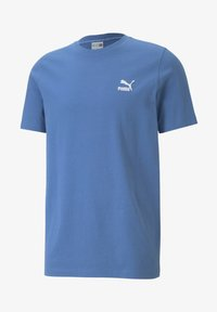 Puma - CLASSICS EMBRO TEE - Print T-shirt - star sapphire - 3