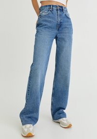 PULL&BEAR - Džíny Straight Fit - light blue - 0