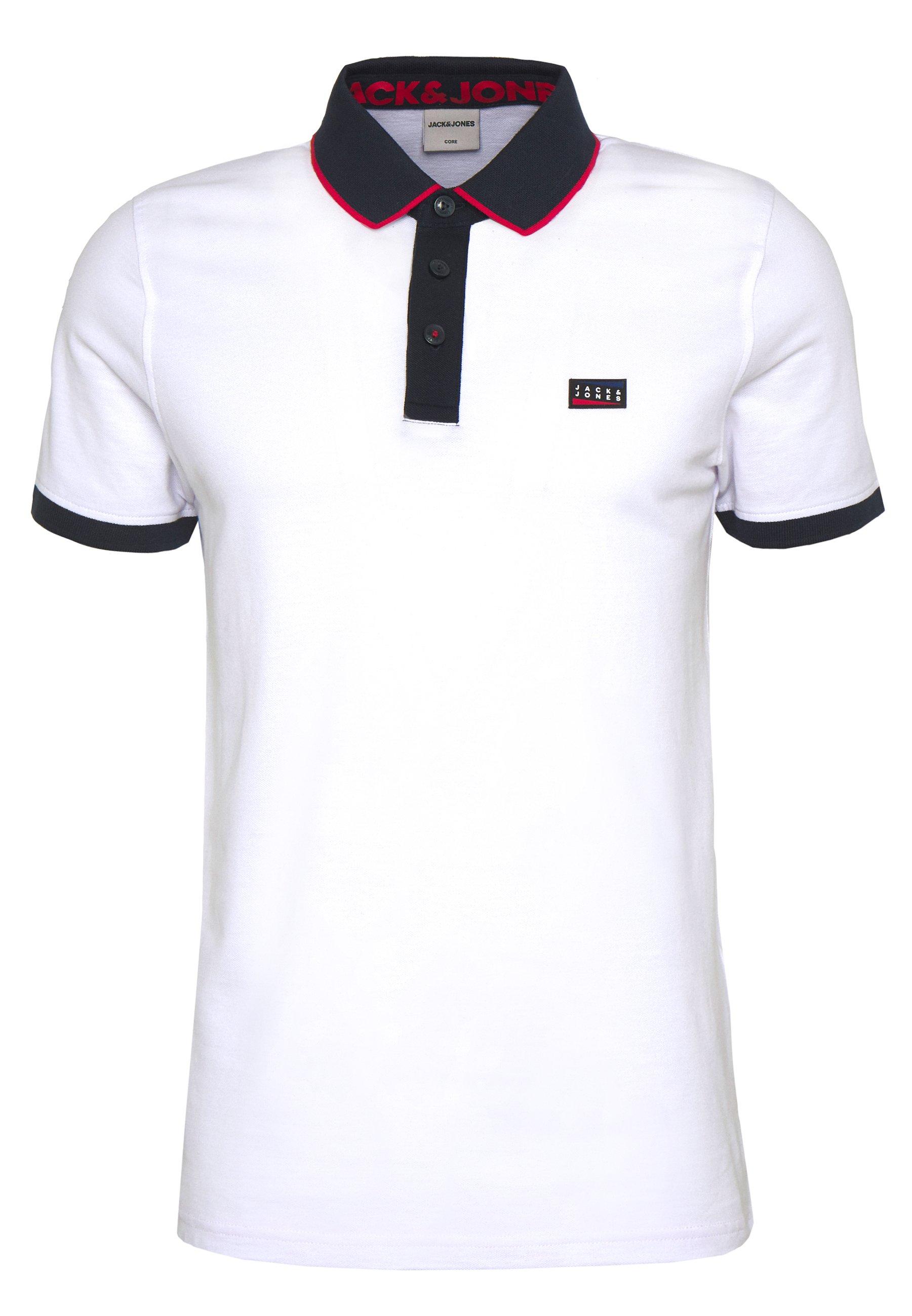 Jack & Jones Jcocharming - Poloskjorter White
