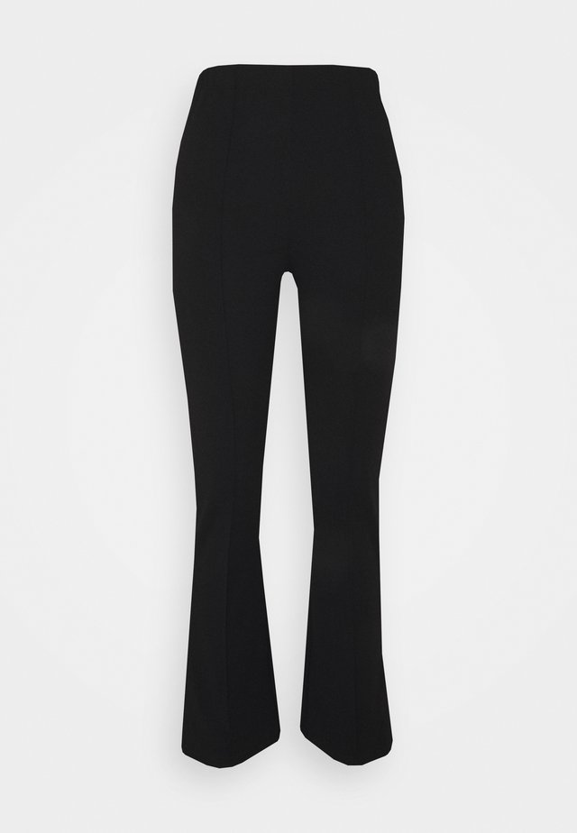PCGWUNDA KICK FLARED PANT TALL - Pantaloni - black