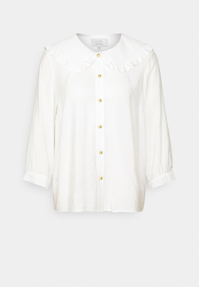 Nümph - COLLAR - Button-down blouse - off-white