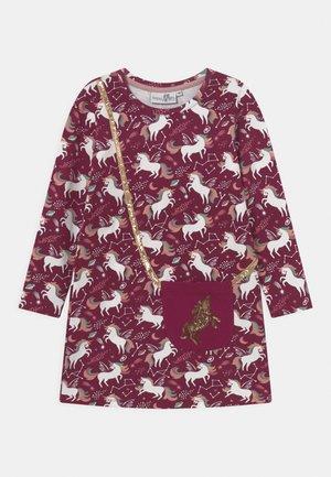 UNICORN  - Jersey dress - berry