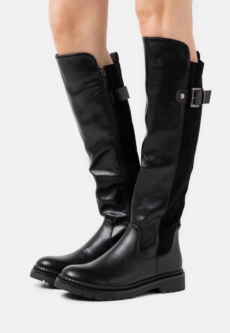 KHARISMA - Vysoká obuv - nero