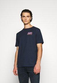 Dickies - CAMPTI TEE - Print T-shirt - navy blue - 0