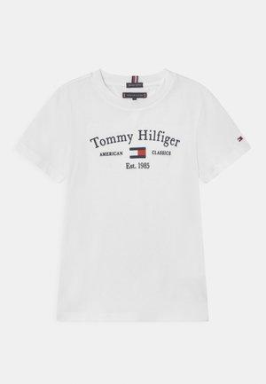 ARTWORK  - Camiseta estampada - white