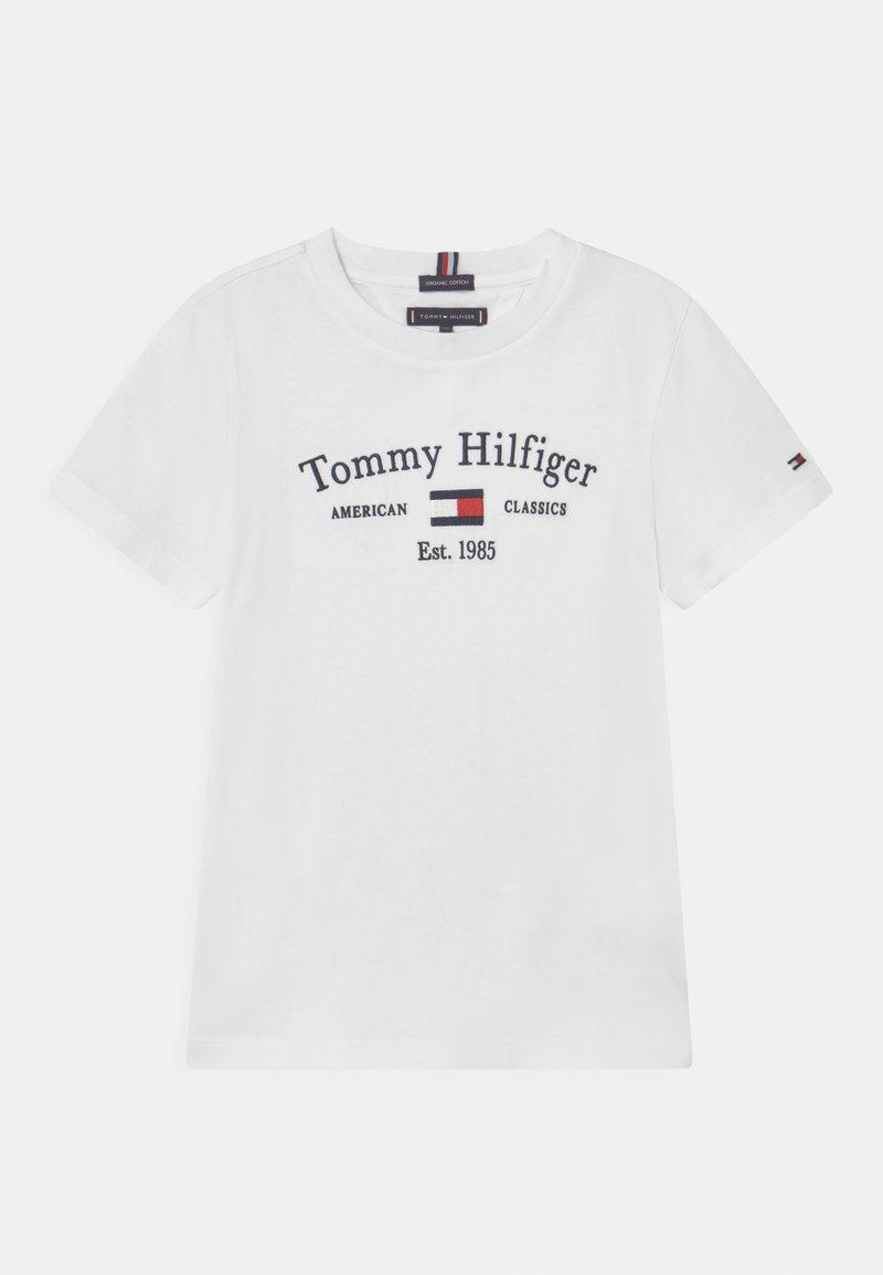Tommy Hilfiger - ARTWORK  - T-shirt con stampa - white