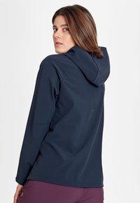 Mammut - SAPUEN  - Giacca softshell - blue/dark blue - 1