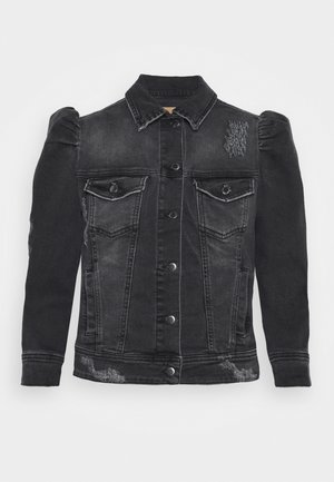 ADA JACKET - Džínová bunda - black denim