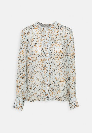 GANJAPW - Long sleeved top - aqua gray