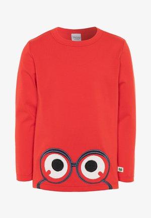 ALFA PEEP  - Long sleeved top - traffic red