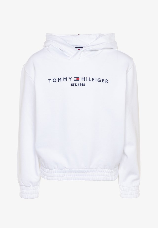 ESSENTIAL HOODED  - Hoodie - white
