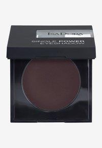 IsaDora - SINGLE POWER EYESHADOW - Eye shadow - black plum - 0