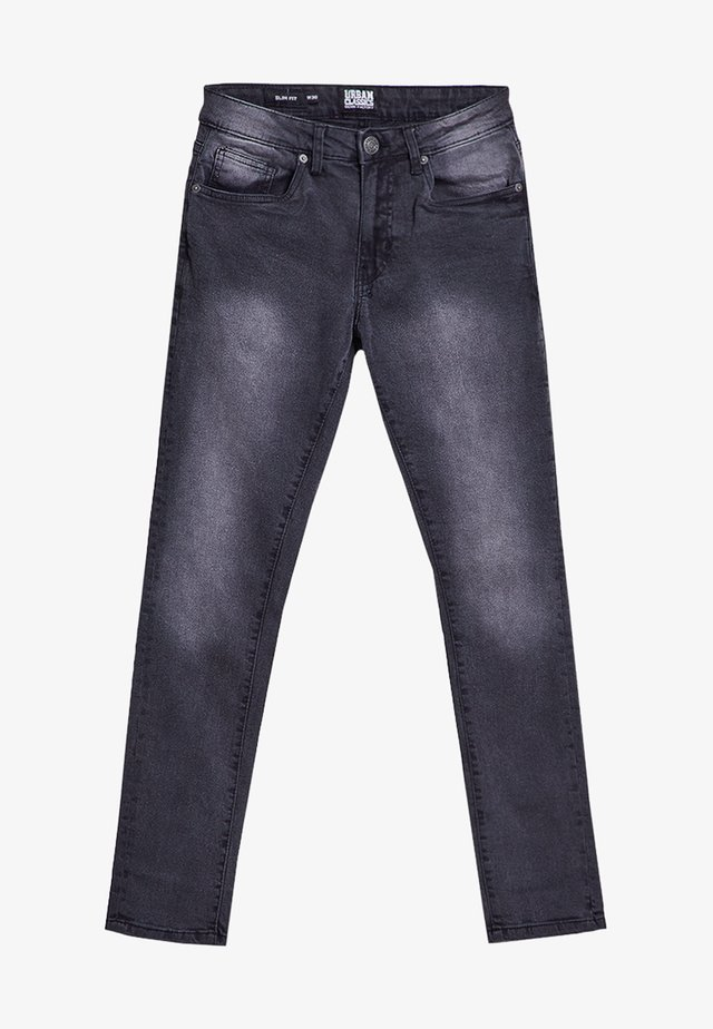 Jeans slim fit - real black washed