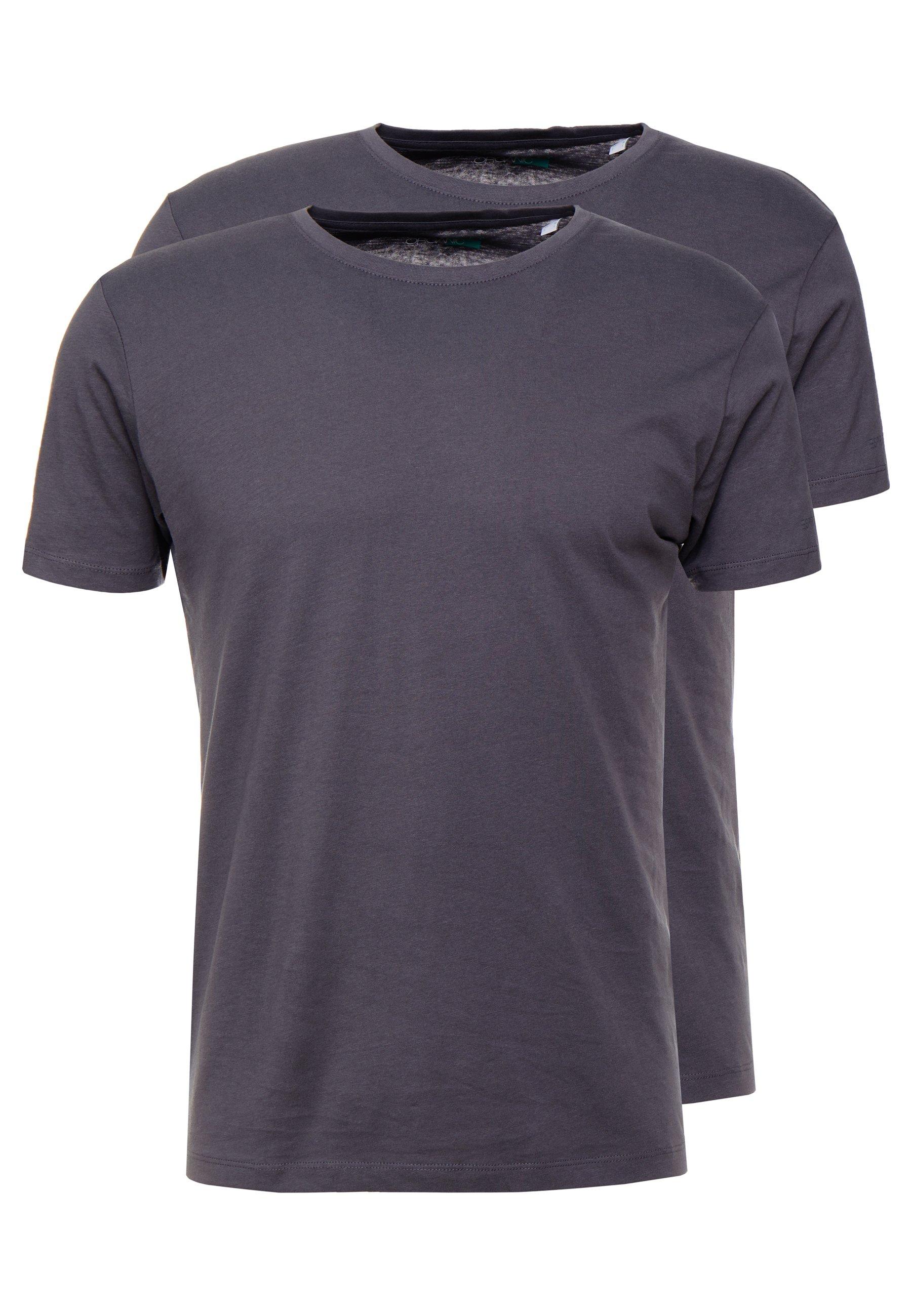 Esprit 2 PACK - T-shirts - dark grey