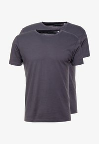 Esprit - 2 PACK - Basic T-shirt - anthracite - 3