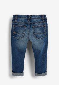 Next - DISTRESSED  - Slim fit jeans - blue denim - 1