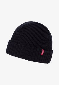 Levi's® - RIBBED BEANIE - Bonnet - regular black - 1