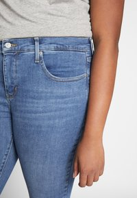 Levi's® Plus - SHPING - Jeansy Skinny Fit - tempo blue - 3