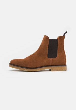 BIADINO - Classic ankle boots - cognac