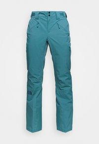 W LENADO PANT - Snow pants - mallard blue