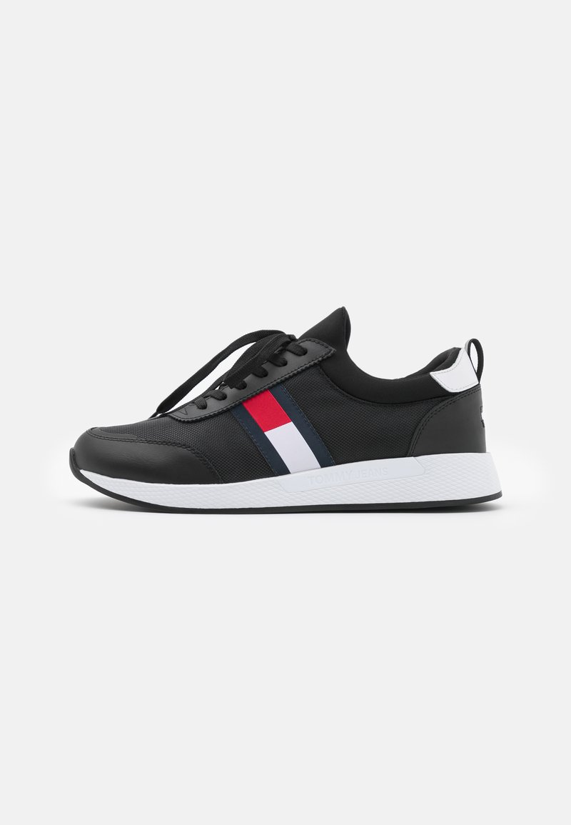 Tommy Jeans - FLEXI RUNNER - Sneakers basse - black