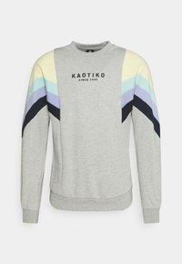 CREW SEATTLE - Sweatshirt - grey/yellow/green/grape/navy