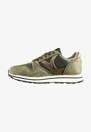 Sneakers laag - vert