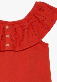 Abercrombie & Fitch - BUTTON THRU - T-shirt print - red - 2