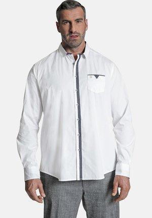 DUKE LEIGH - Shirt - weiß