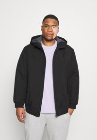 Jack & Jones - JJBERNIE JACKET - Light jacket - black - 0