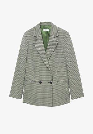 KARIERTE - Blazer - grün